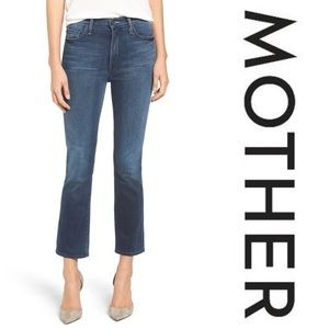 MOTHER DENIM • The Insider Crop, Repeating Love